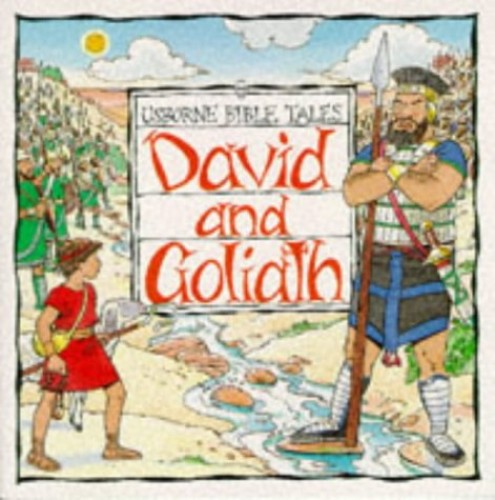 David and Goliath By Heather Amery
