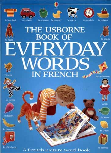 The Usborne Book of Everyday Words in French By Jo Litchfield
