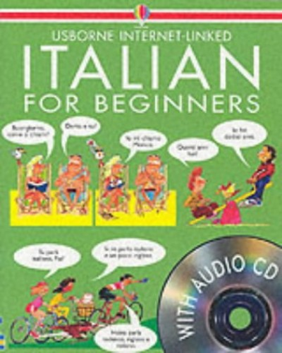 Italian for Beginners (Book & Cd) by Usborne