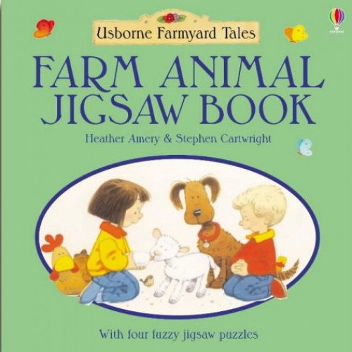 Farmyard Tales Farm Animals Jigsaw Book by Heather Amery