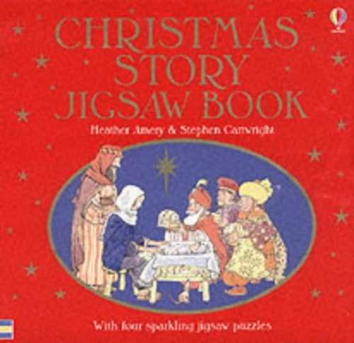 The Christmas Story Jigsaw Book by Heather Amery