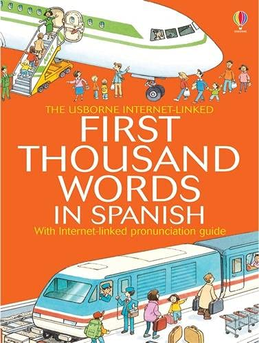First Thousand Words In Spanish Mini Ed by Heather Amery