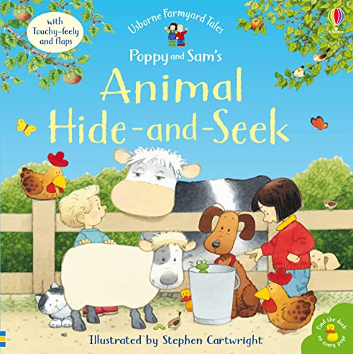 Poppy and Sam's Animal Hide and Seek By Jenny Tyler
