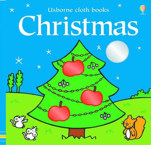 Christmas Cloth Book By Fiona Watt