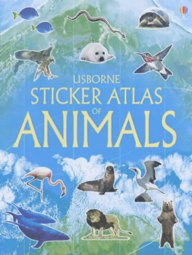 Sticker Atlas Animals By Gillian Doherty