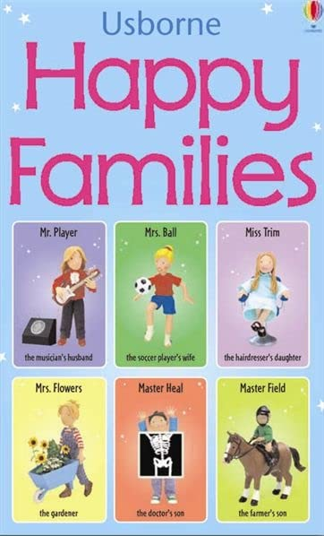 Happy Families Game (Snap Cards)