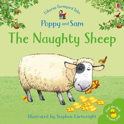The Naughty Sheep (Mini Farmyard Tales) (Farmyard Tales Minibook Series) By Heather Amery