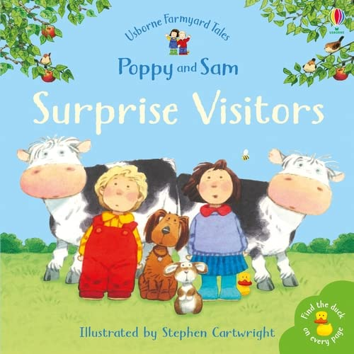 Surprise Visitors (Mini Farmyard Tales) (Farmyard Tales Minibook Series) By Heather Amery