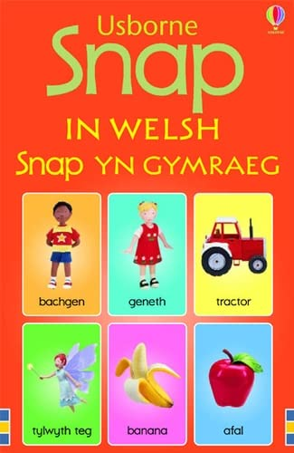 Snap Cards in Welsh by Jo Litchfield