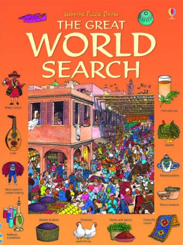 Great World Search (Usborne Great Searches) by Kamini Khanduri