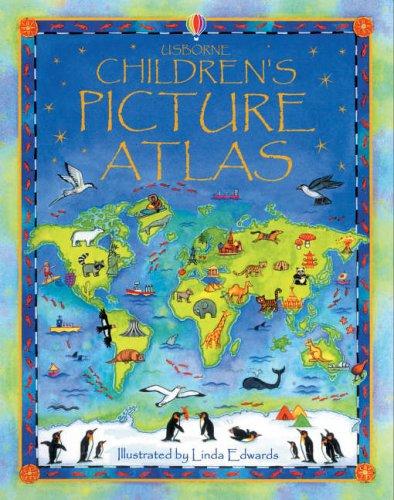The Usborne Children's Picture Atlas: Miniature Edition By Fiona Watt