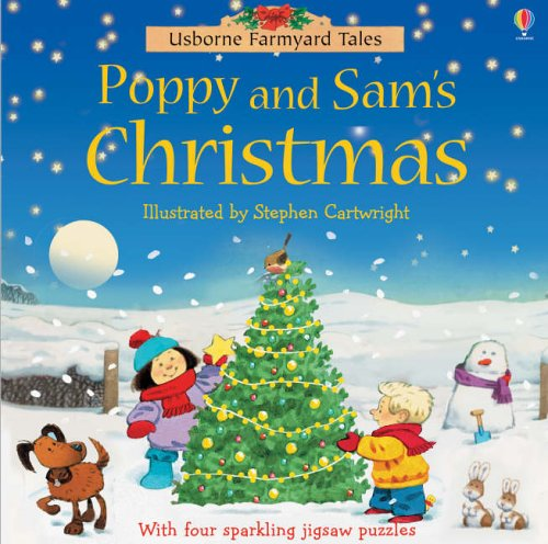 Farmyard Tales Chunky Jigsaw - Poppy and Sam's Christmas By Felicity Brooks