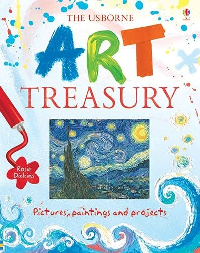 Art Treasury (Internet Linked) By Rosie Dickens