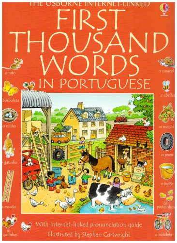 First Thousand Words in Portuguese By Mairi MacKinnon