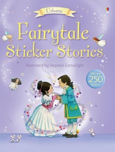 Usborne Sticker Fairytales By Heather Amery