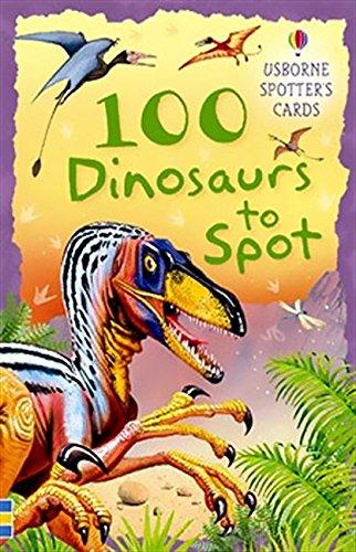 100 Dinosaurs to Spot Usborne Spotters Cards By Phillip Clarke