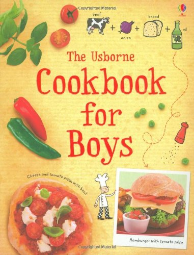 The Cookbook for Boys By Abigail Wheatley