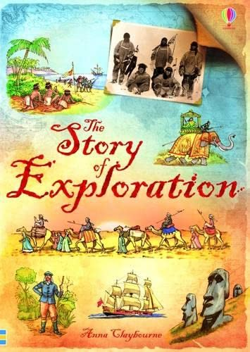 Story of Exploration By Anna Clayborne