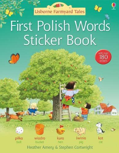 First Polish Sticker Book By Heather Amery