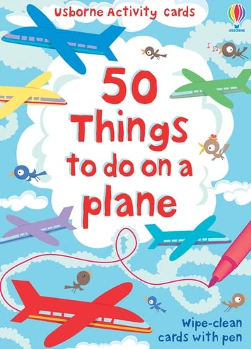50 Things to Do on a Plane By Emily Bone