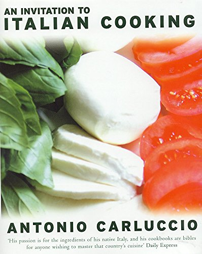 Invitation to Italian Cooking By Antonio Carluccio