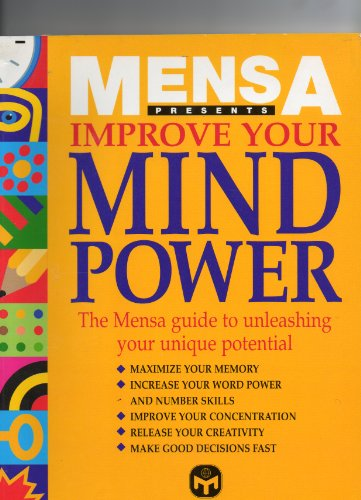 Mensa Improve Your Mind Power By Josephine Fulton