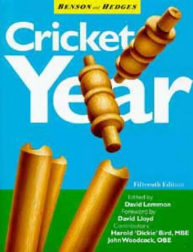 The Benson and Hedges Cricket Year By Volume editor David Lemmon