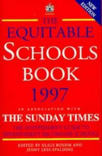 The Equitable Schools Book By Volume editor Klaus Boehm
