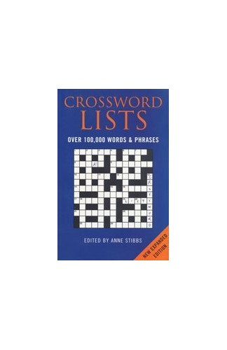 Bloomsbury Crossword Lists By Anne Stibbs