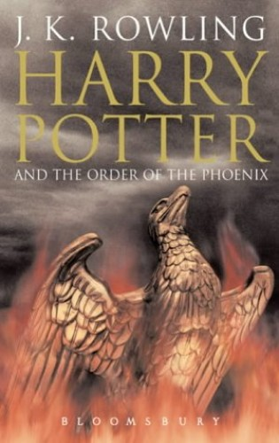 Harry Potter and the Order of the Phoenix (Book 5) [Adult Edition] By J. K. Rowling