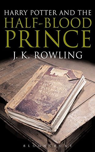 Harry Potter and the Half-Blood Prince: Adult Edition by J. K. Rowling