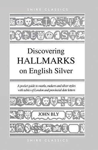 Discovering Hallmarks on English Silver By John Bly