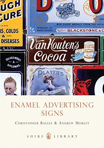 Enamel Advertising Signs by Christopher Baglee