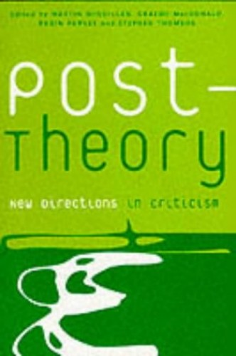 Post-theory By Edited by Martin McQuillan
