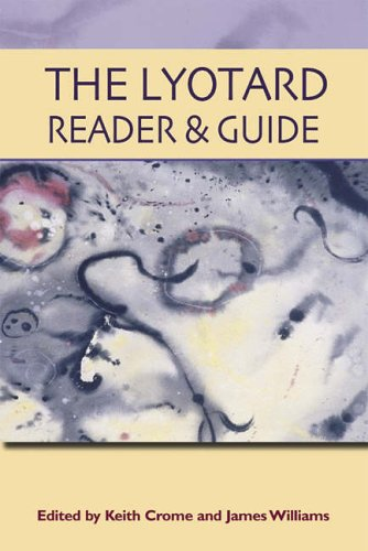 The Lyotard Reader and Guide by Jean-Francois Lyotard