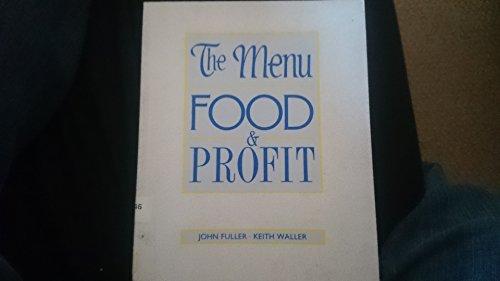 Menu, Food and Profit By John Fuller