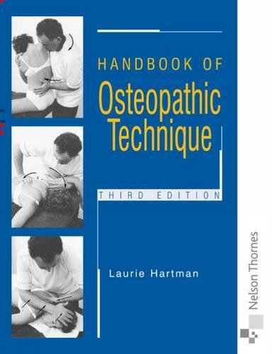 Handbook of Osteopathic Technique Third Edition By Linda Finlay