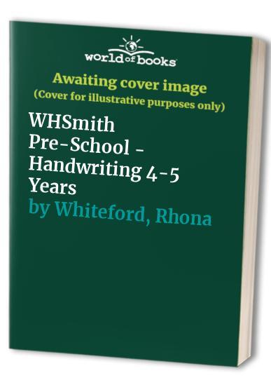 Whsmith: Handwriting: Pre-school (WHS Primary Skills S.)
