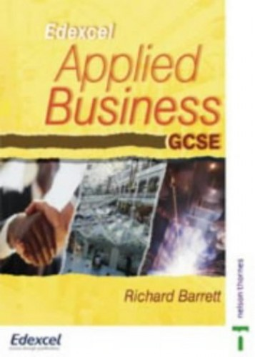 Applied Business GCSE By Richard Barrett