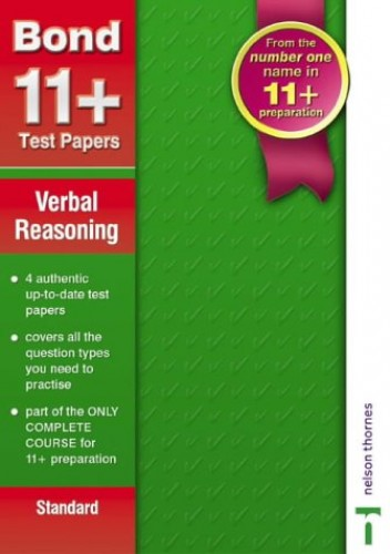 Bond 11+ Test Papers By Sarah Lindsay