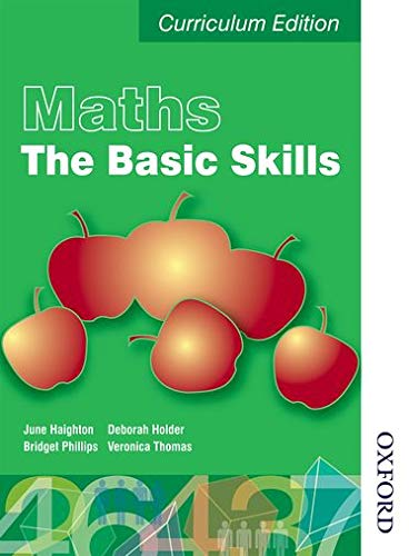 Maths the Basics Functional Skills Edition (E3-L2): Student Book (E3-L2) (Levels 1 and 2 and 3) By June Haighton