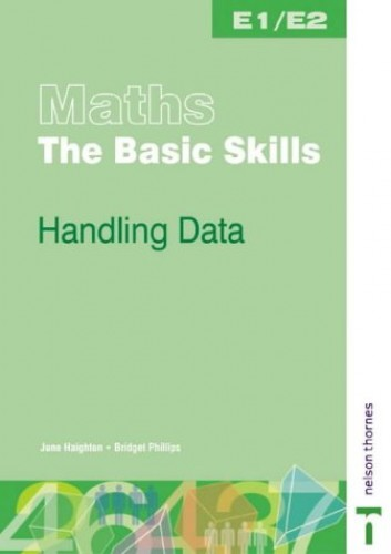 Maths the Basic Skills Handling Data Worksheet Pack By June Haighton