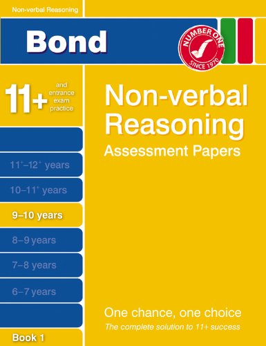 Bond Third Papers in Non-verbal Reasoning 9-10 Years By Andrew Baines