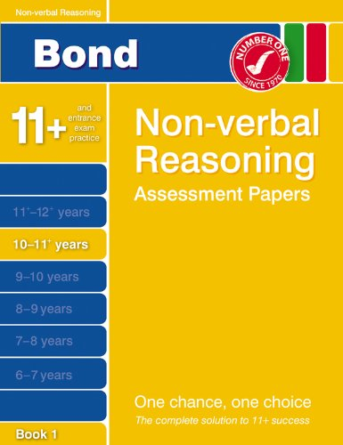 Bond Fourth Papers in Non-verbal Reasoning 10-11+ Years By Alison Primrose