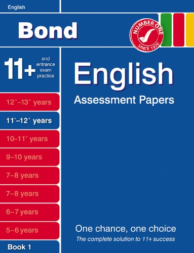 Bond Fifth Papers in English 11-12+ Years By J. M. Bond