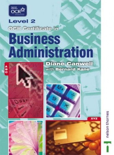 OCR Certificate of Business Administration By Diane Canwell