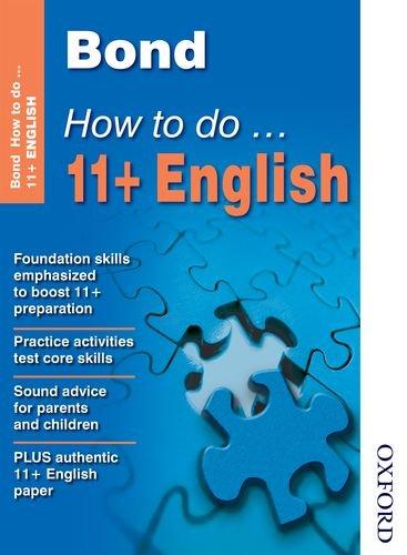 Bond How to Do 11+ English By Elisabeth Heesom