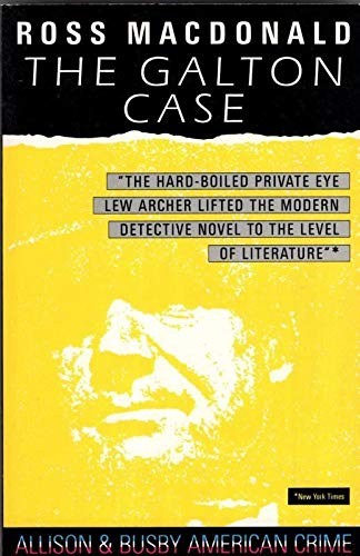 The Galton Case by Macdonald, Ross Paperback Book The Cheap Fast Free Post