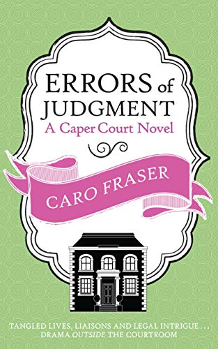 Errors of Judgment (Caper Court #8) By Caro Fraser