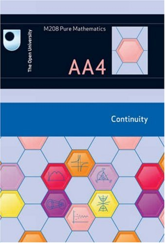 Continuity: Unit AA4 by Open University Course Team